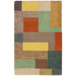 Safavieh Handmade New Zealand Wool Deco Square Rug (2' x 3')