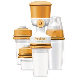 Dex Baby MilkBank Vacuum 8-piece Storage System