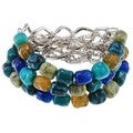 Alexa Starr Multi Row Chain and Bead Bracelet