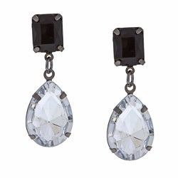 Alexa Starr Crystal Teardrop Earrings
