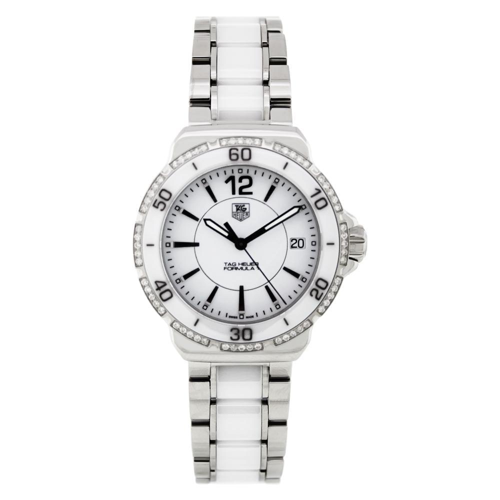 Tag Heuer Women's WAH1213.BA0861 Formula 1 Stainless Steel Diamond Watch