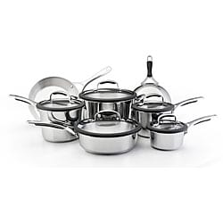 KitchenAid Gourmet Stainless Steel 12-pc Cookware Set