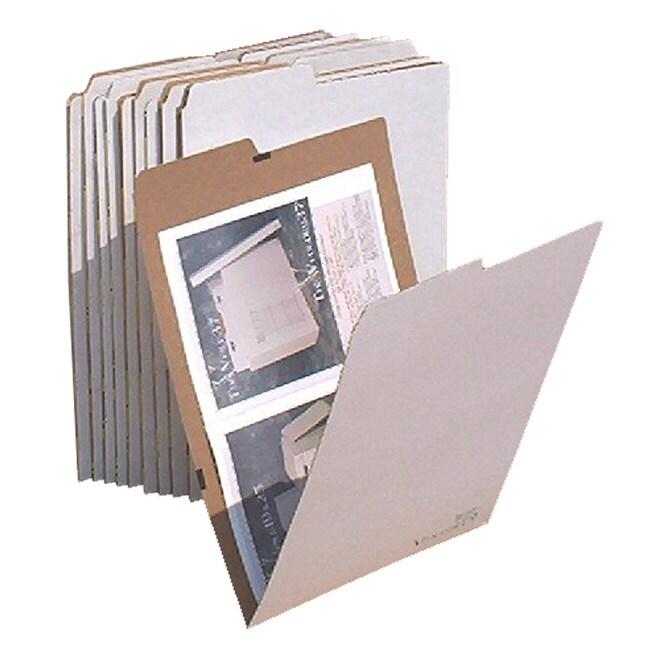 VFolder 12 in x 18 in Flat Items Storage Folders (Pack of 10)