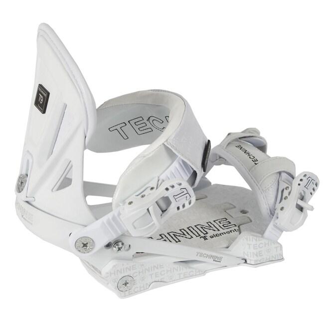 Technine Elements Pro Women's White Snowboard Bindings
