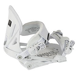 Technine Elements Pro Women's White Snowboard Bindings