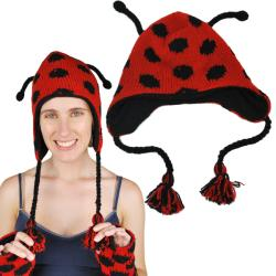 Women's Lady Bug Hat (Nepal)