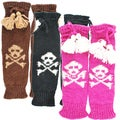 Hand-knit Women's Skeleton Legwarmer (Nepal)