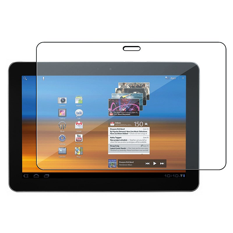 Self-adhering Screen Protector for Samsung Galaxy Tab 10.1-inch