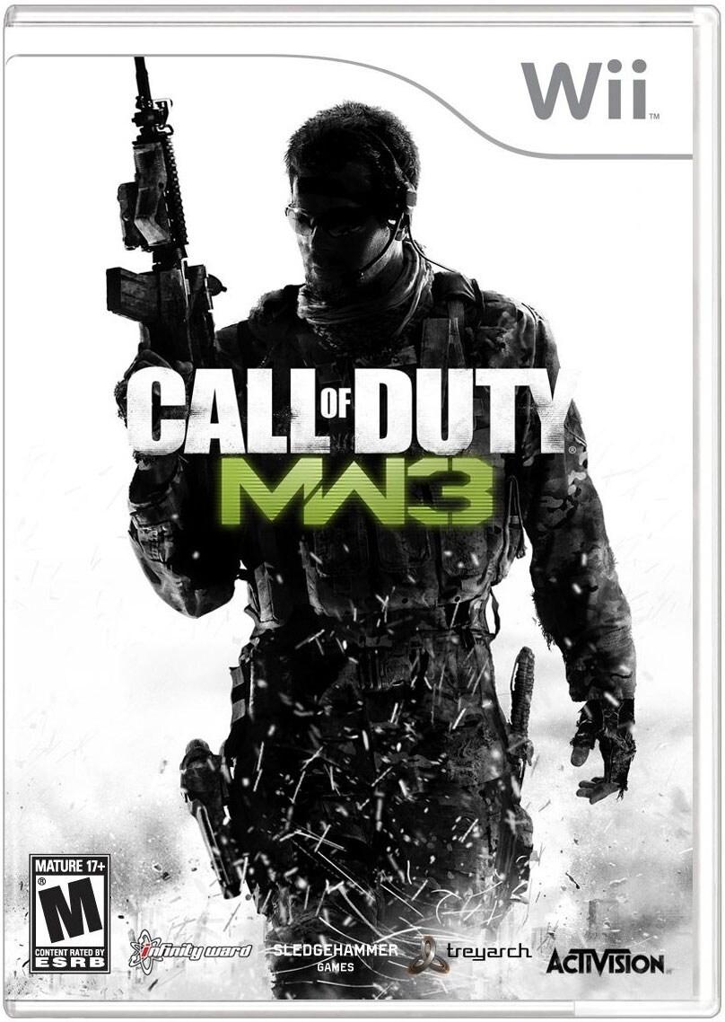 Wii - Call of Duty: Modern Warfare 3