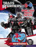 Transformers More Than Meets the Eye: 3-D Book With Glasses (Paperback)