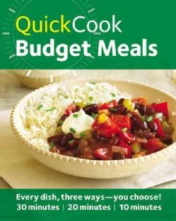 Quick Cook Budget Meals (Paperback)