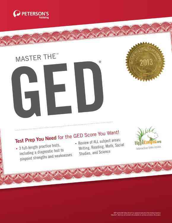 Peterson's Master the GED 2013 (Paperback)