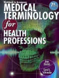 Medical Terminology for Health Professions (Paperback)
