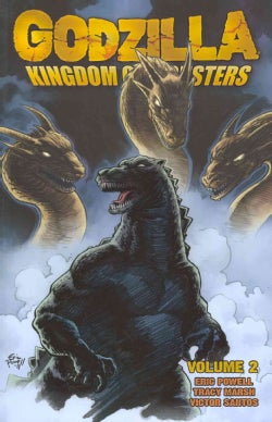 Godzilla 2: Kingdom of Monsters (Paperback)