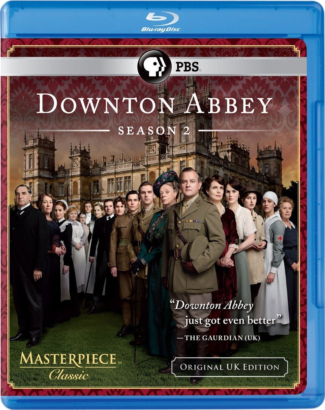 Masterpiece Classic: Downton Abbey Season 2 (Blu-ray Disc)