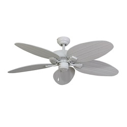 EcoSure Siesta Key White 52-inch Ceiling Fan