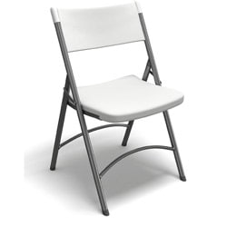 Mayline Event Series 5000FC Heavy Duty Folding Chairs (Pack of 4)