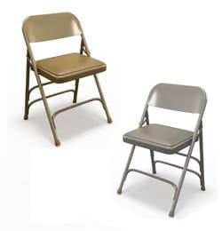 Mayline Event Series 2800FC Steel Folding Vinyl Seat Chairs (4 per carton)