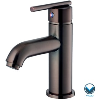 VIGO Setai Single Handle Bathroom Faucet In Oil Rubbed Bronze