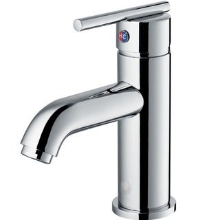 VIGO Setai Single Handle Bathroom Faucet In Chrome