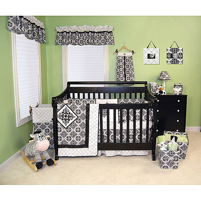 Trend Lab Versailles 6-piece Crib Bedding Set