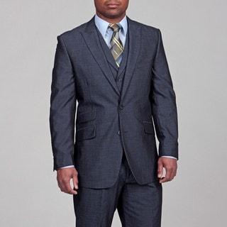 English Laundry Men's Blue Three-piece Suit FINAL SALE
