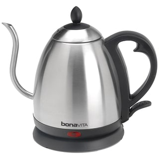 Bonavita 1.0-Liter Electric Gooseneck Stainless Kettle