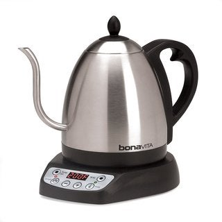 Bonavita Stainless Steel 1-liter Variable Electric Kettle