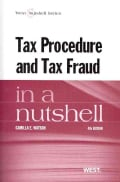 Tax Procedure and Tax Fraud in a Nutshell (Paperback)