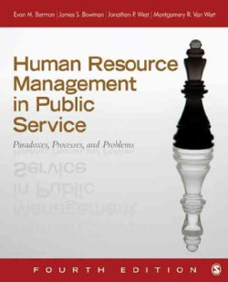 Human Resource Management in Public Service: Paradoxes, Processes, and Problems (Hardcover)