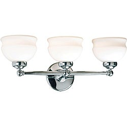 Hamilton 3-light Chrome Vanity