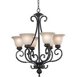 Breverd 6-light Oil Rubbed Bronze Chandelier