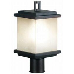 Holmes Single Light Oil Rubbed Bronze Post Lantern