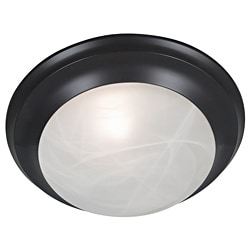Walton 1-light Oil Rubbed Bronze Flush Mount