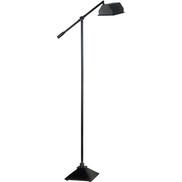 Webster 59-in Oil Rubbed Bronze Adjustable Floor Lamp