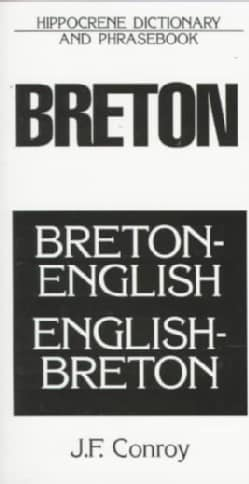 Dic Breton-English/English-Breton Dictionary and Phrasebook (Paperback)