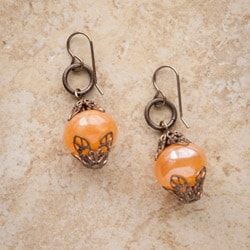 Classic Vintage Glass Earrings