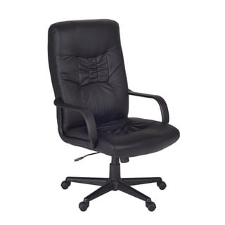 Posh Leather High Back Office Chair