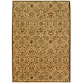 Hand-tufted 'Orosius' Gold Wool Rug (3'6 x 5'6)