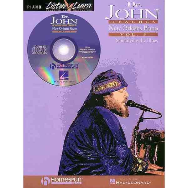 Dr. John Teaches New Orleans Piano: Sanctifying the Blues 704166