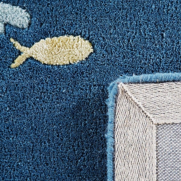 Hand-tufted TAQ-802 Wool Rug (3'6 x 5'6)