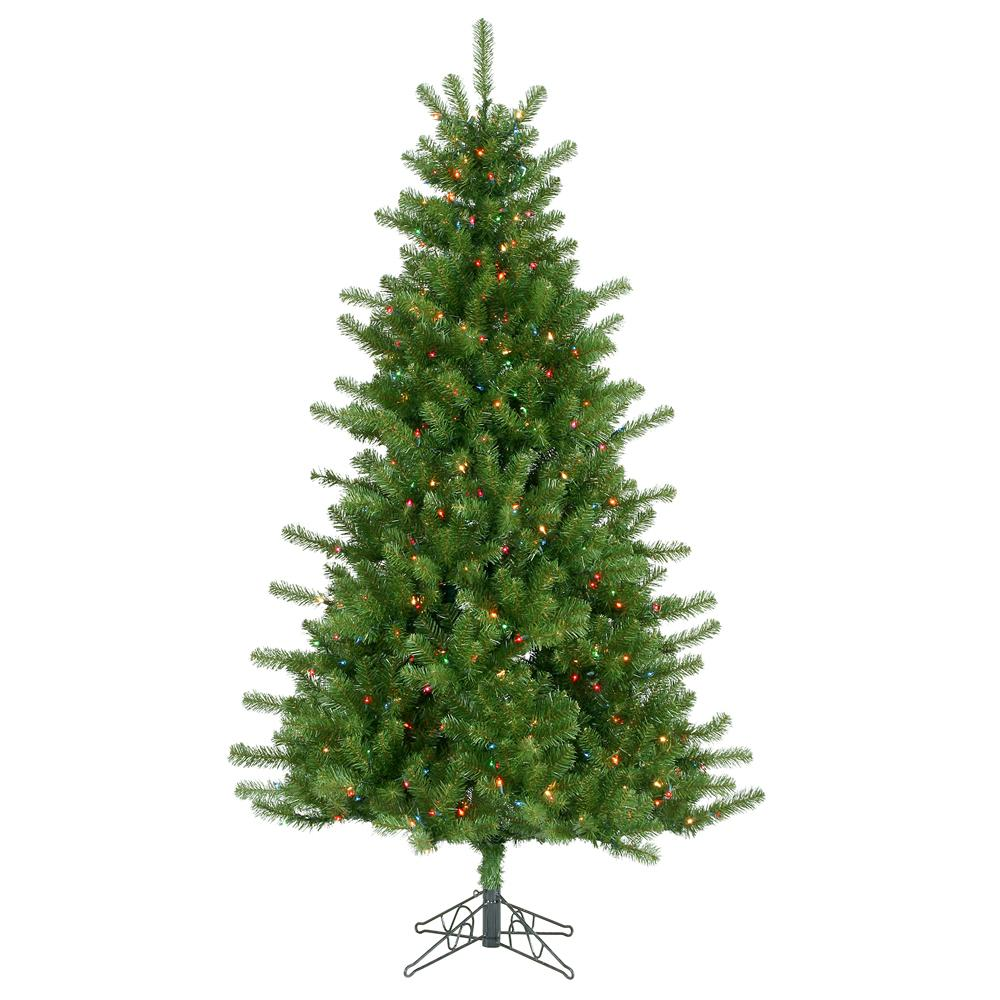 Colorado Pine 7-foot Multi-color Holiday Tree