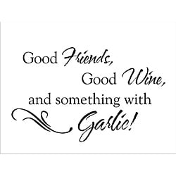 Vinyl Attraction 'Good Friends' Vinyl Wall Decal