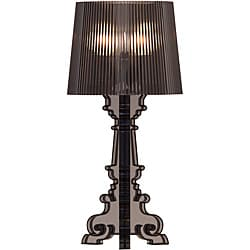 Salon S Translucent Black Table Lamp