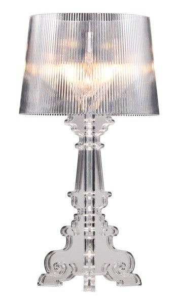 Salon L Clear Table Lamp