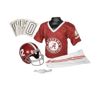 Franklin Sports Collegiate Deluxe Alabama Team Uniform Set
