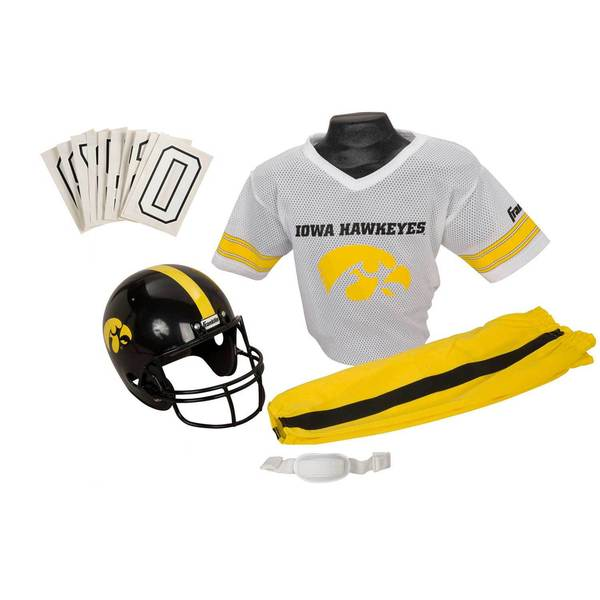 Franklin Sports Youth Iowa Football Uniform Set