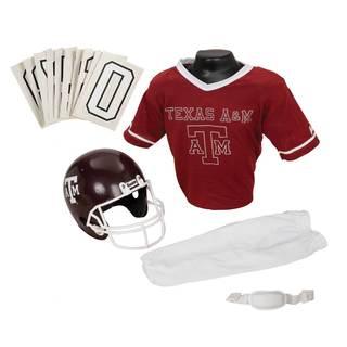 Franklin Sports Youth Texas A&M Football Uniform Set