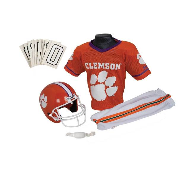 Franklin Sports Youth Clemson Football Uniform Set