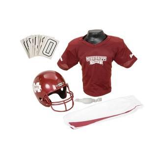 Franklin Sports Youth Mississippi State Football Uniform Set